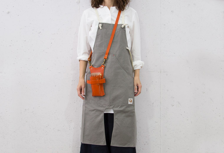Suolo onG apron(エプロン) グレー