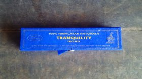 TRANQUILITY/HIMALAYAN NATURAL INCENSE