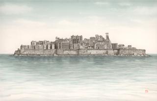 ポストカード Wonder Island