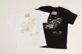 池島バックプリントTシャツ
