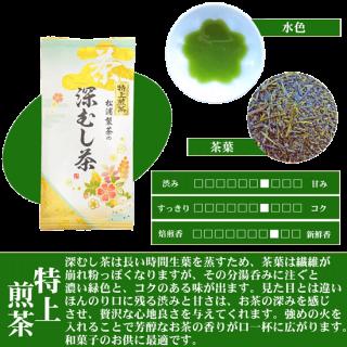 松浦製茶の特上煎茶(100g・200g)