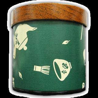 茶器柄缶(150g) 4色