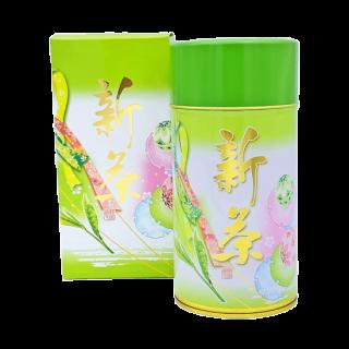 【新茶】新茶印刷缶ギフト 2,916円~2,052円