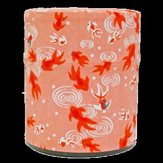 40g和紙缶(金魚・桃)