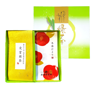 冬-6 冬茶物語・受賞記念茶ギフト