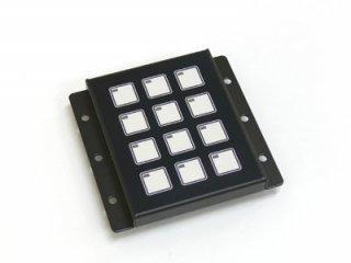 LED照光式12キー抵抗無 LFB-12SS