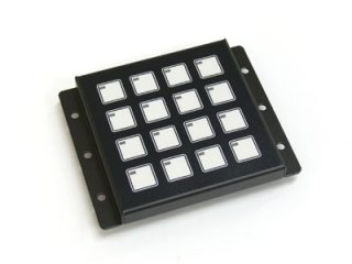 LED照光式16キー抵抗無 LFB-16SS