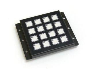 LED照光式16キー24V LFB-16MS-24