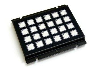 LED照光式24キー24V LFB-24MS-24