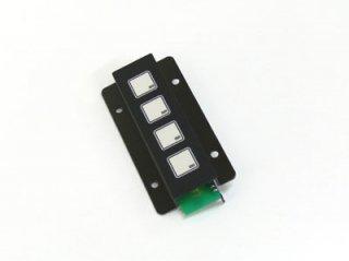 LED照光式4キー5V LFB-4SS-5