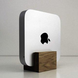 Mac mini用木製スタンド