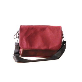 CURRENT - SHOULDERBAG(ワイン)