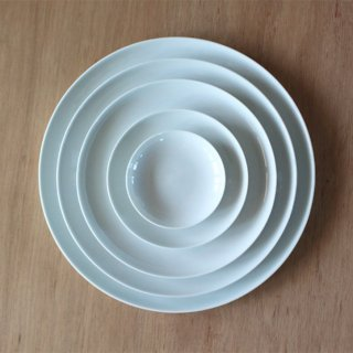 THE PLATE WHITE A6 10cm