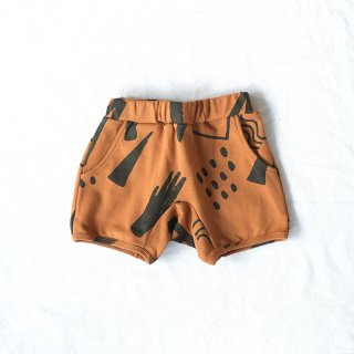 『arkakama』20SS / SPD DOM SHORTS WASA (Chocolate×F.CHARCOAL) AKT00055