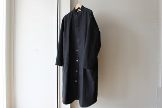 COMFORT COAT-01 LONG TYPE(BLACK)