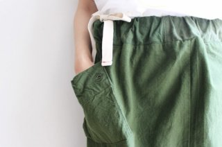 Remake by catta-07 Swedish Military Skirt(Khaki)