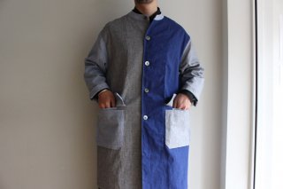COMFORT COAT-03 (BLUE MULTI)