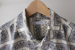 <img class='new_mark_img1' src='//img.shop-pro.jp/img/new/icons3.gif' style='border:none;display:inline;margin:0px;padding:0px;width:auto;' />SIDE POCKET PAISLEY SHIRTS(WHITE)