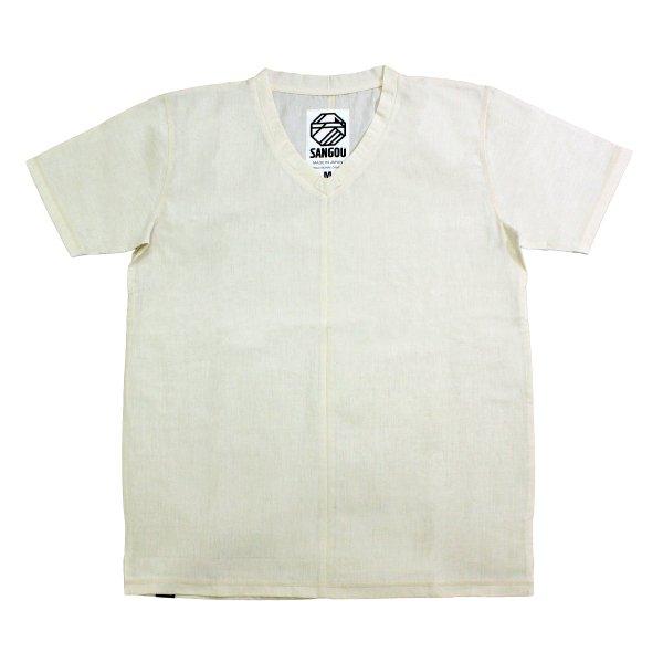 【SANGOU】伊勢木綿Tシャツ