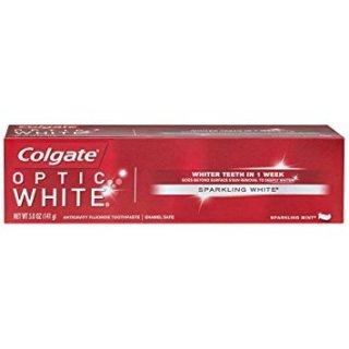 コルゲート オプティック ホワイト ミント 【130g】<BR>Colgate Optic White Sparkling Mint Toothpaste ホワイトニング歯磨き粉