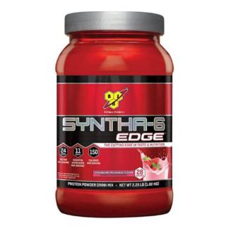 BSN シンサ6 エッジ ホエイプロテイン パウダー【1.02kg】ストロベリー ミルクシェイク味 いちごミルク<br>BSN Syntha 6 Edge - Strawberry Milkshake
