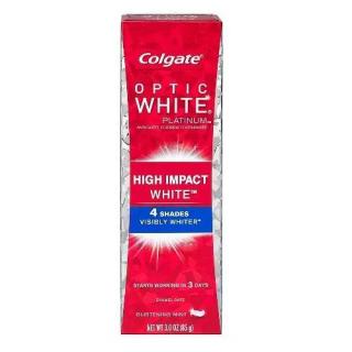 コルゲート ハイインパクト ホワイトニング歯磨き粉【85g】<br>Colgate Optic White High Impact Toothpaste