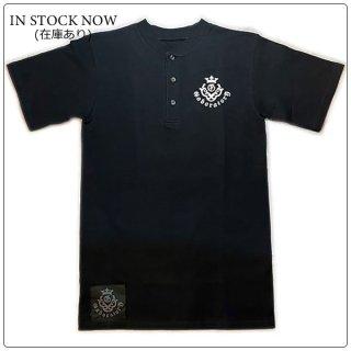 ガボラトリー/ガボール(Gaboratory/Gabor)Tシャツ ウェア ヘンリーネック ショートスリーブ/ブラック ホワイト【ガボラトリー正規代理店/名古屋】