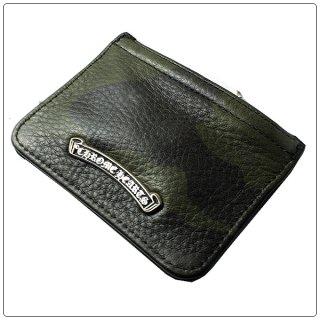 クロムハーツ 財布(Chrome Hearts)ジッパーチェンジパース3×4 タンクカモミディアム レザー(クロム・ハーツ)