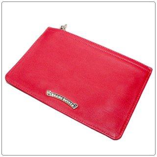 クロムハーツ 財布(Chrome Hearts)ジッパーチェンジパース#2レッド ウォレット【クロム・ハーツ】【クロムハーツ財布】【名古屋】