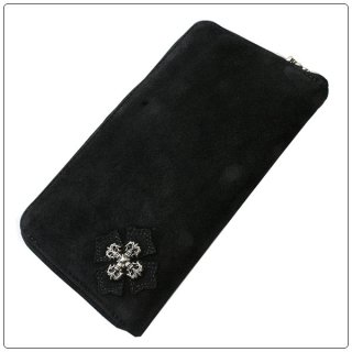 クロムハーツ 財布(Chrome Hearts)REC F ZIP#2 フィリグリープラス ブラック スウェードレザー【クロム・ハーツ】【クロムハーツ財布】【名古屋】
