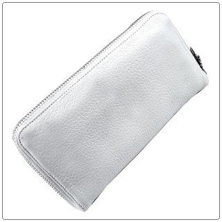 クロムハーツ 財布(Chrome Hearts)REC F ZIP#2 プレーン ホワイト ヘビーレザー【クロム・ハーツ】【クロムハーツ財布】【名古屋】