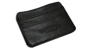 クロムハーツ 財布(Chrome Hearts)カードケース ダブルサイドブラック ヘビーレザーウォレット【クロム・ハーツ】【クロムハーツ財布】【名古屋】