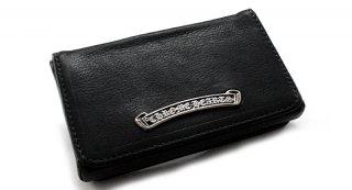 クロムハーツ 財布(Chrome Hearts)カードケースV1 1ポケットBLK ヘビーレザーウォレット【クロム・ハーツ】【クロムハーツ財布】【名古屋】