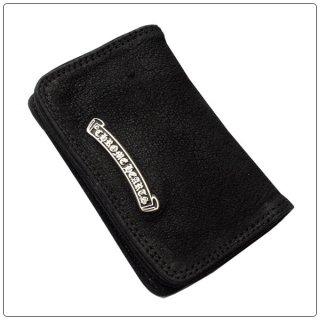 クロムハーツ 財布(Chrome Hearts)カードケース#2 GRMT/スクロールブラック デストロイレザーウォレット【クロム・ハーツ】【クロムハーツ財布】【名古屋】