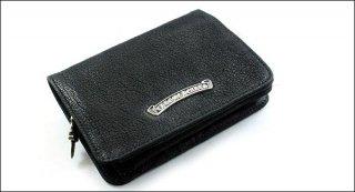 クロムハーツ 財布(Chrome Hearts)ジョーイブラック デストロイレザーウォレット【クロム・ハーツ】【クロムハーツ財布】【名古屋】