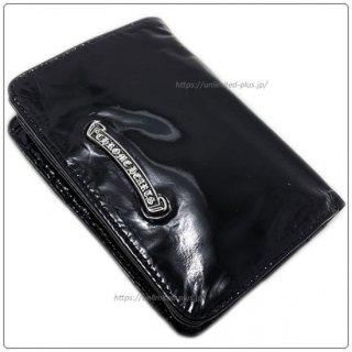 クロムハーツ 財布(Chrome Hearts)ジョーイブラック パテントレザーウォレット【クロム・ハーツ】【クロムハーツ財布】【名古屋】