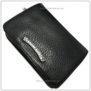 クロムハーツ 財布(Chrome Hearts)ジョーイ ブラック ヘビーレザー ウォレット【クロム・ハーツ】【クロムハーツ財布】【名古屋】