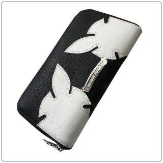 クロムハーツ 財布(Chrome Hearts)REC F ZIP#3エイリアンラブ ブラック × ホワイト レザーウォレット【クロム・ハーツ】【クロムハーツ財布】【名古屋】