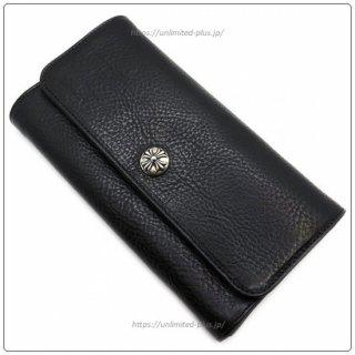 クロムハーツ 財布(Chrome Hearts)ジュディ ブラック ヘビーレザー【クロム・ハーツ】【クロムハーツ財布】【名古屋】