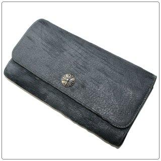クロムハーツ 財布(Chrome Hearts)ジュディ ブルーグレー レーザード【クロム・ハーツ】【クロムハーツ財布】【名古屋】