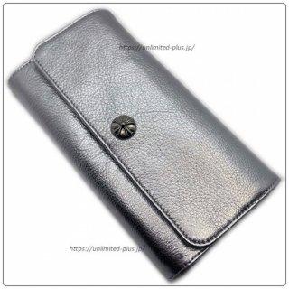 クロムハーツ 財布(Chrome Hearts)ジュディ メタリックシルバー レザー【クロム・ハーツ】【クロムハーツ財布】【名古屋】