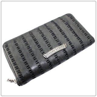 クロムハーツ 財布(Chrome Hearts)REC F ZIP#2 レーザード グレイ レザー【クロム・ハーツ】【クロムハーツ財布】【名古屋】