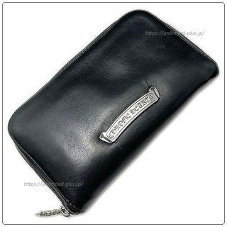 クロムハーツ 財布(Chrome Hearts)REC F ZIP ミニ ブラック ライトレザー【クロム・ハーツ】【クロムハーツ財布】【名古屋】