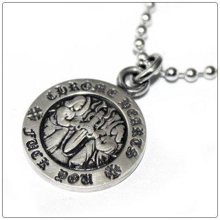 クロムハーツ(Chrome Hearts)ペンダント エンジェル メダル チャーム V1 ファックユー (ネックレス)【クロム・ハーツ】【クロムハーツ財布】【名古屋】