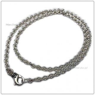 クロムハーツ(Chrome Hearts)ネックレス チェーン NEチェーン 20インチ(約50cm) (ネックレス)(クロム・ハーツ)