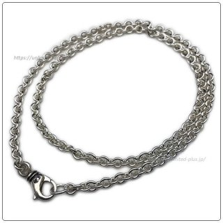 クロムハーツ(Chrome Hearts)ネックレス チェーン NEチェーン 24インチ(約60cm) (ネックレス)(クロム・ハーツ)