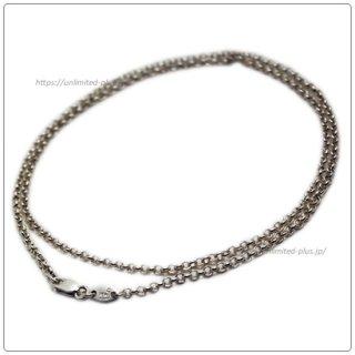 クロムハーツ(Chrome Hearts)ネックレス チェーン ロールチェーン 20インチ(約50cm) (ネックレス)(クロム・ハーツ)