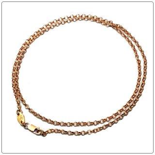 クロムハーツ(Chrome Hearts)ネックレス チェーン 22Kゴールド ロールチェーン 18インチ(約45cm) (ネックレス)(クロム・ハーツ)