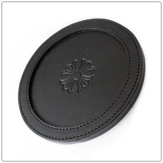クロムハーツ(Chrome Hearts)コースターCH+/V1 ブラックヘビーレザー【クロム・ハーツ】【クロムハーツ財布】【名古屋】