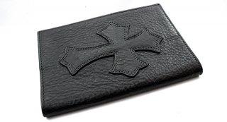 クロムハーツ(Chrome Hearts)パスポートカバーV1 セメタリークロス レフト to ライト【クロム・ハーツ】【クロムハーツ財布】【名古屋】